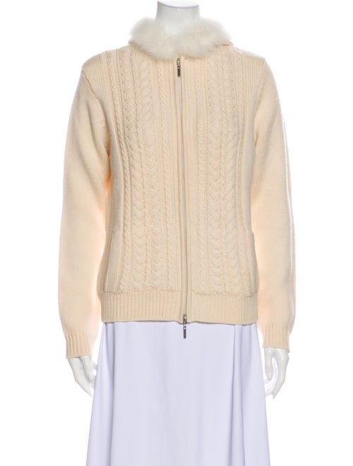 Magaschoni Wool Mock Neck Sweater Wool