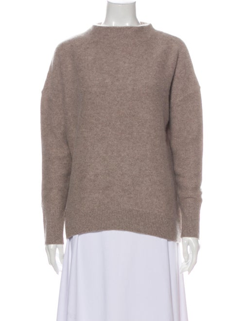 Magaschoni Cashmere Mock Neck Sweater