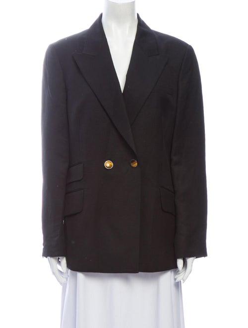 Partow Linen Blazer w/ Tags Black