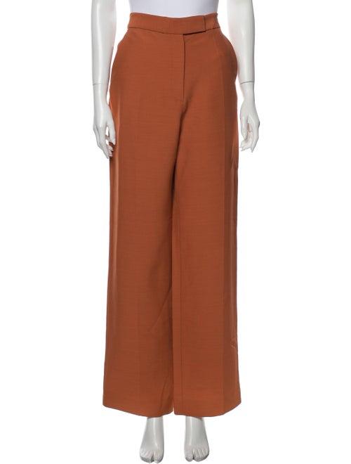 Partow Wide Leg Pants Orange
