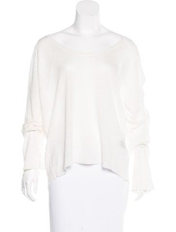 Nili Lotan Long Sleeve Linen Sweter w/ Tags None