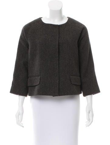 Nili Lotan Twill Wool Jacket