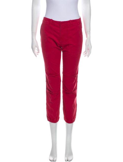 Nili Lotan Skinny Leg Pants Red