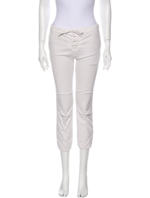 Nili Lotan Skinny Leg Pants White