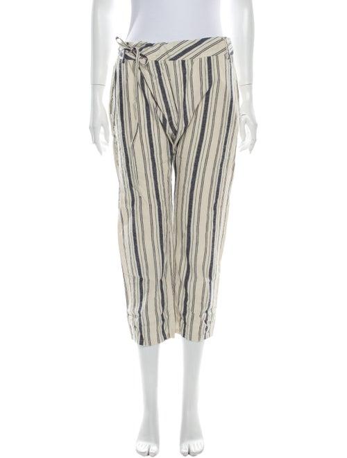 Nili Lotan Striped Straight Leg Pants