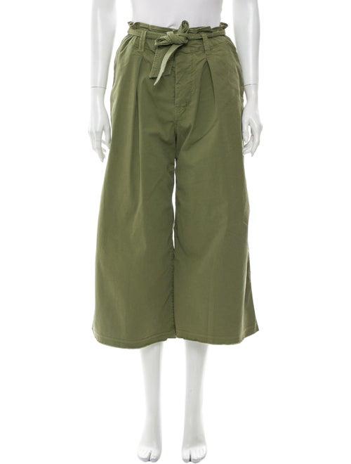 Nili Lotan Wide Leg Pants Green