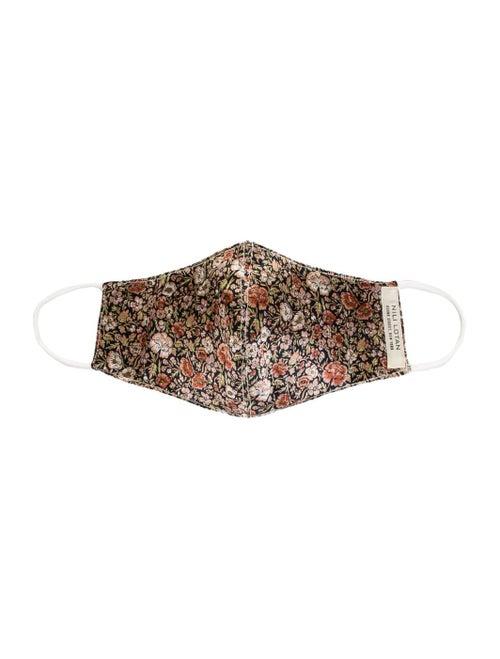 Floral Silk Charmeuse Mask
