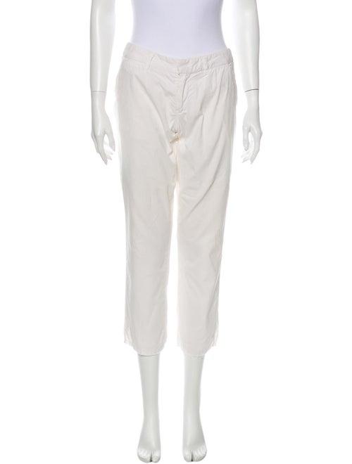 Nili Lotan Straight Leg Pants White