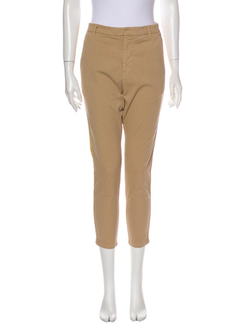 Nili Lotan Skinny Leg Pants Orange