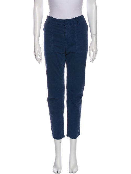 Nili Lotan Straight Leg Pants Blue