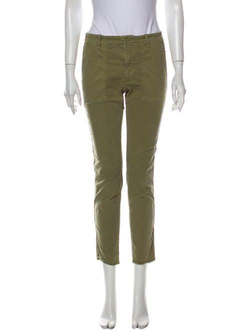 Nili Lotan Straight Leg Pants Green