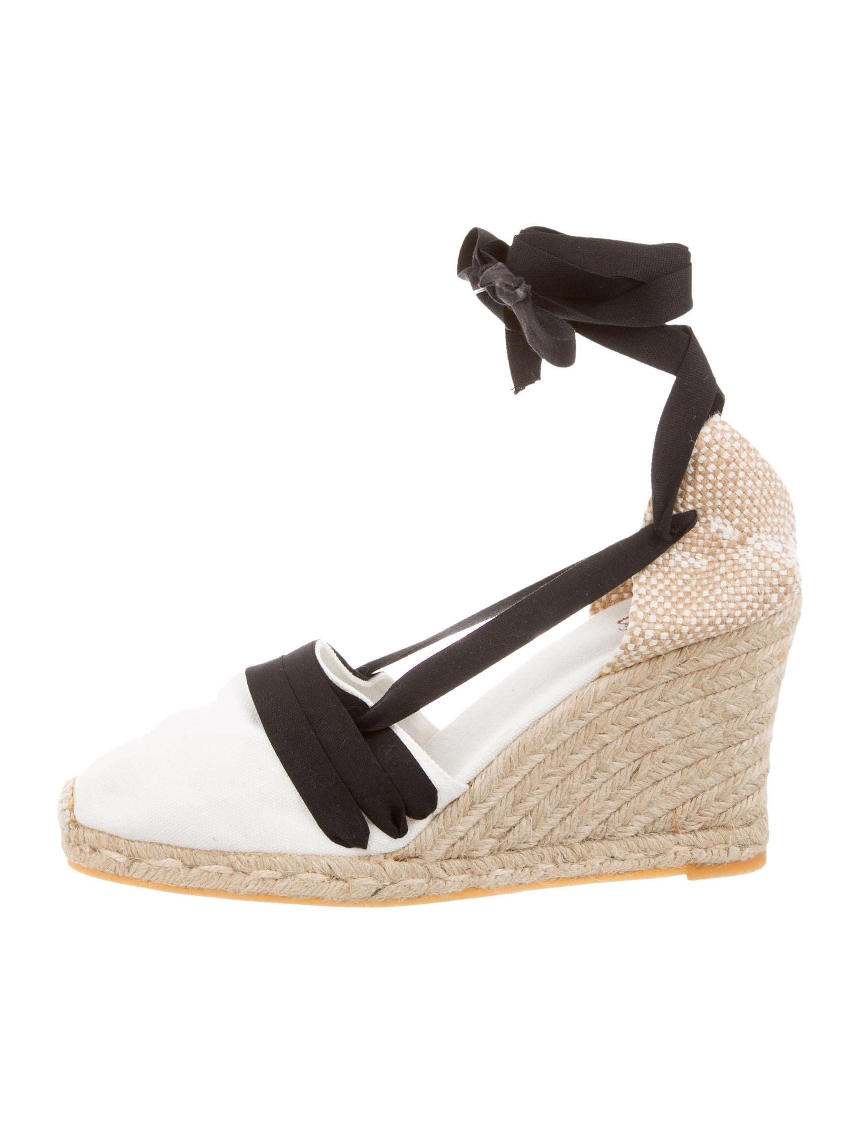 castaner canvas espadrille wedges shoes wn820175 the