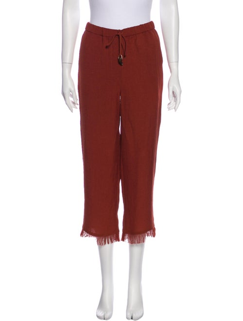 Nanushka Straight Leg Pants Orange