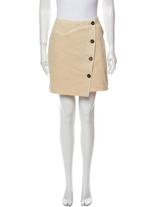 Nanushka Mini Skirt Brown