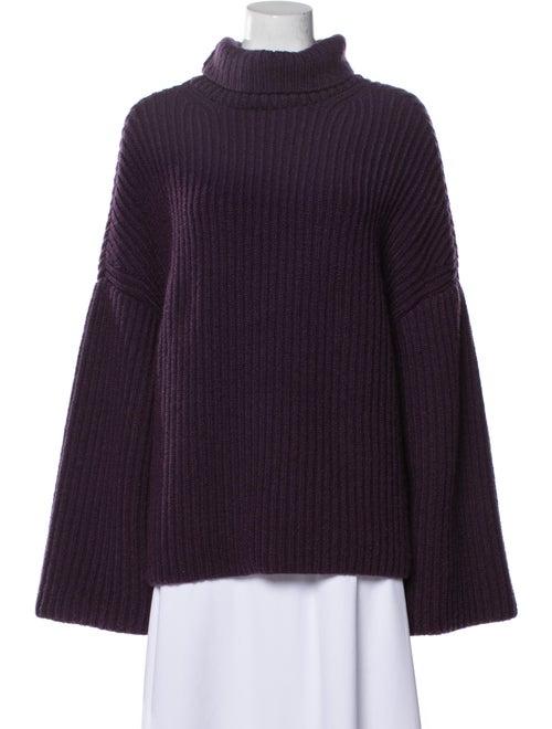 Nanushka Virgin Wool Turtleneck Sweater Wool