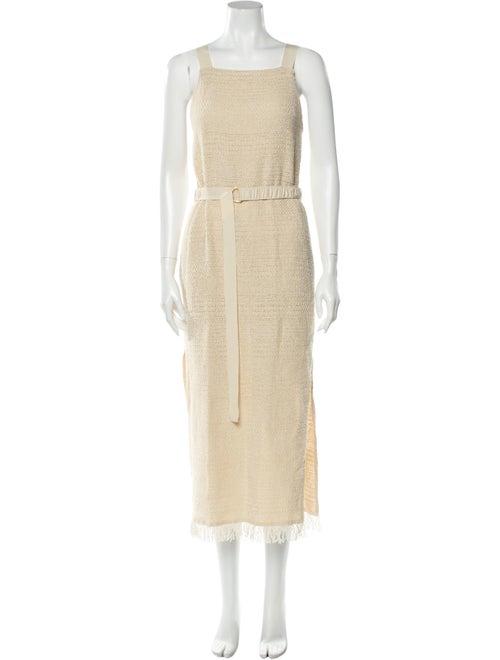 Nanushka Square Neckline Long Dress w/ Tags