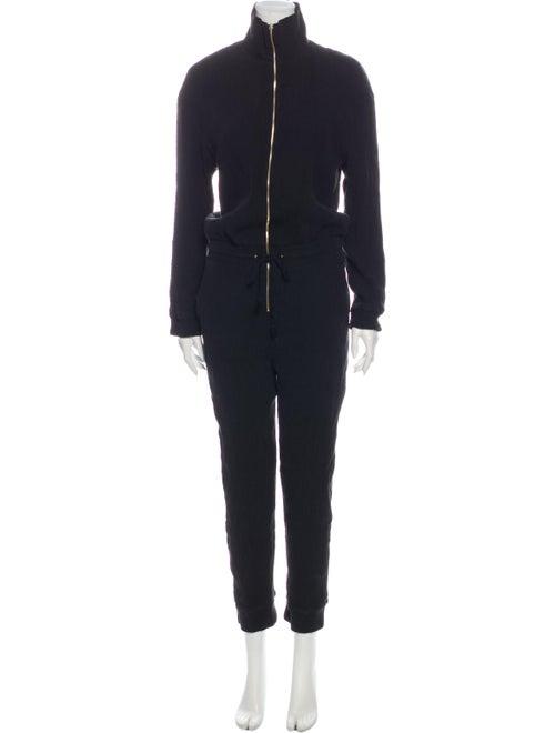 Nanushka Turtleneck Jumpsuit Black