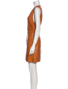 Nanushka V-Neck Mini Dress