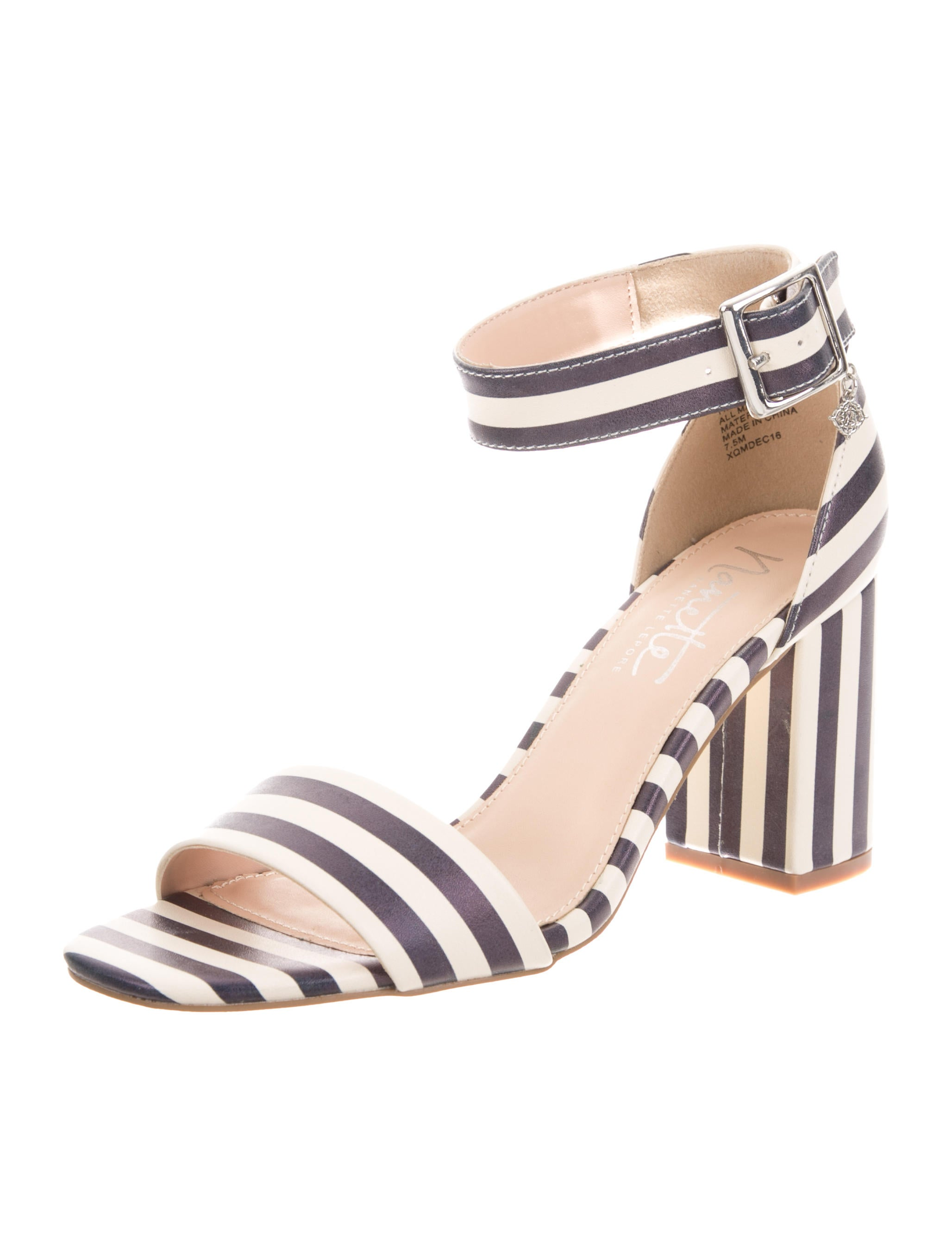 Nanette Lepore Tilda Striped Sandals w/ Tags buy cheap extremely tLnLx