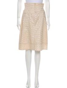Nanette Lepore Printed Knee-Length Skirt w/ Tags