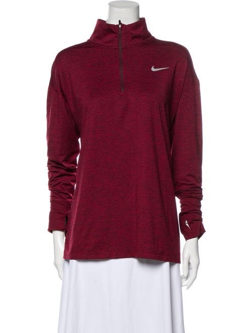 Nike ACG Turtleneck Long Sleeve Sweatshirt Red