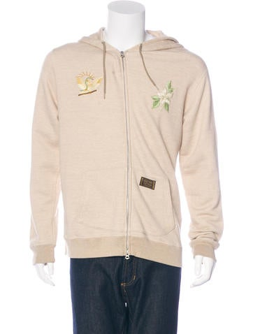 Neighborhood Embroidered Hooded Sweatshirt None