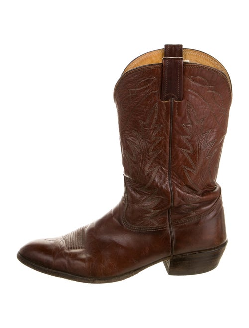 Nocona Boots Leather Western Boots Brown
