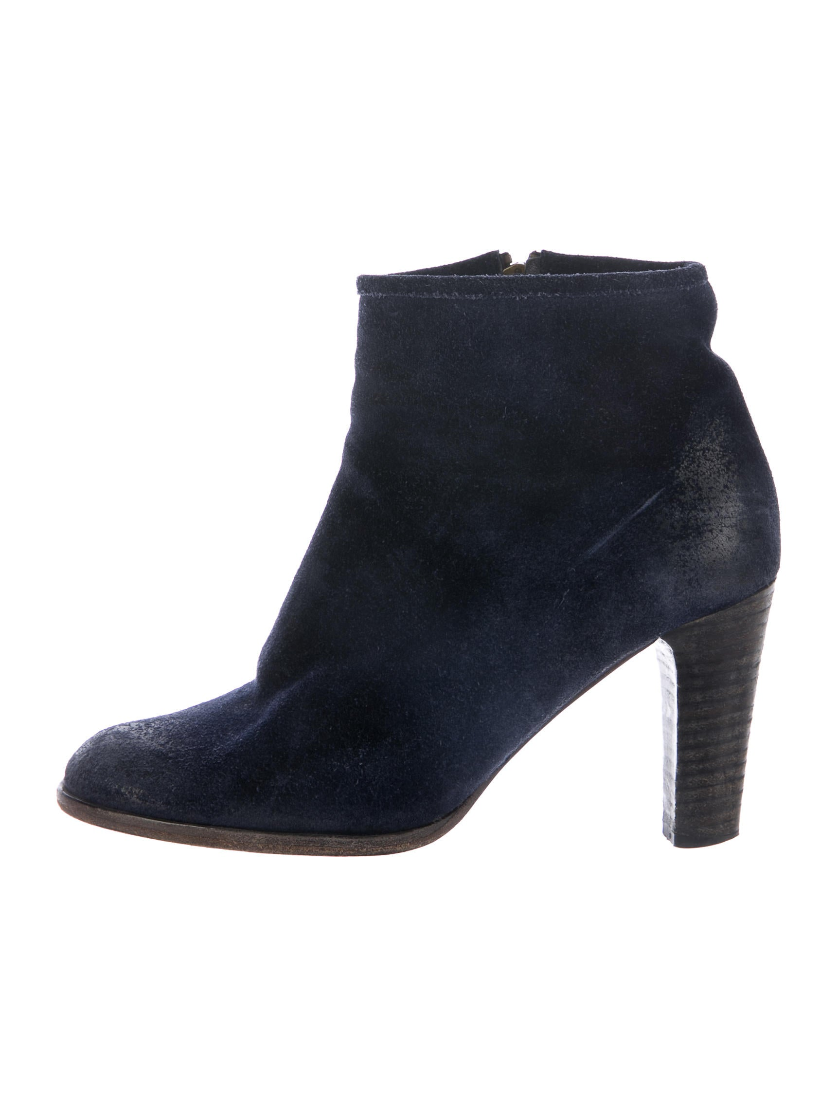 n d c distressed suede ankle boots shoes wnd20074