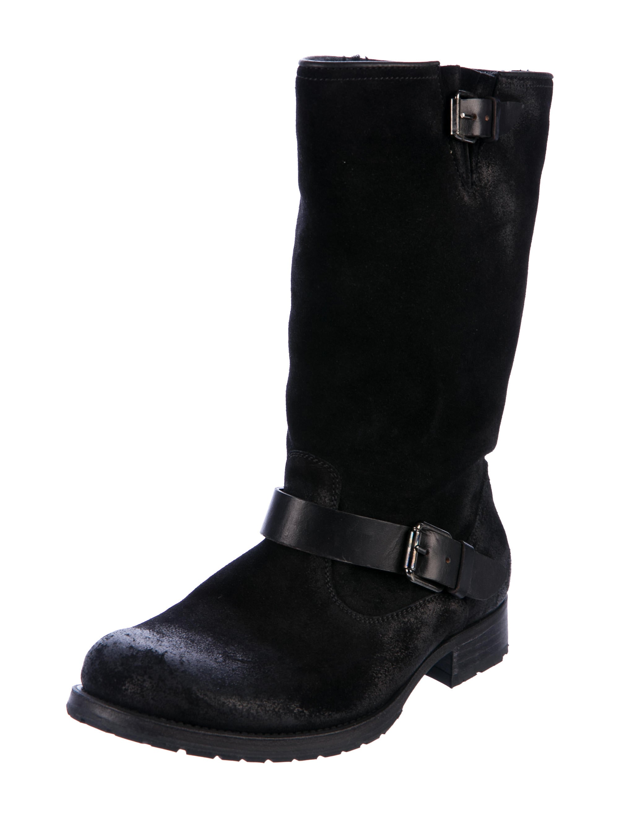 n.d.c. Distressed Suede Mid-Calf Boots fast delivery JlmtpZJpuH