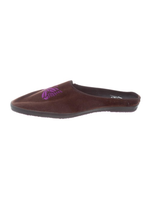 Needles Slippers Brown