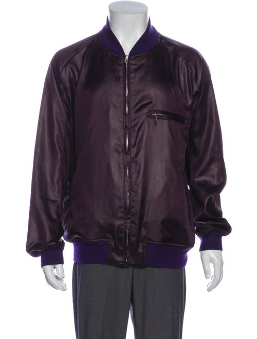 Needles Bomber Jacket Purple