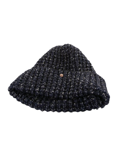 New Era Cable Knit Beanie Navy