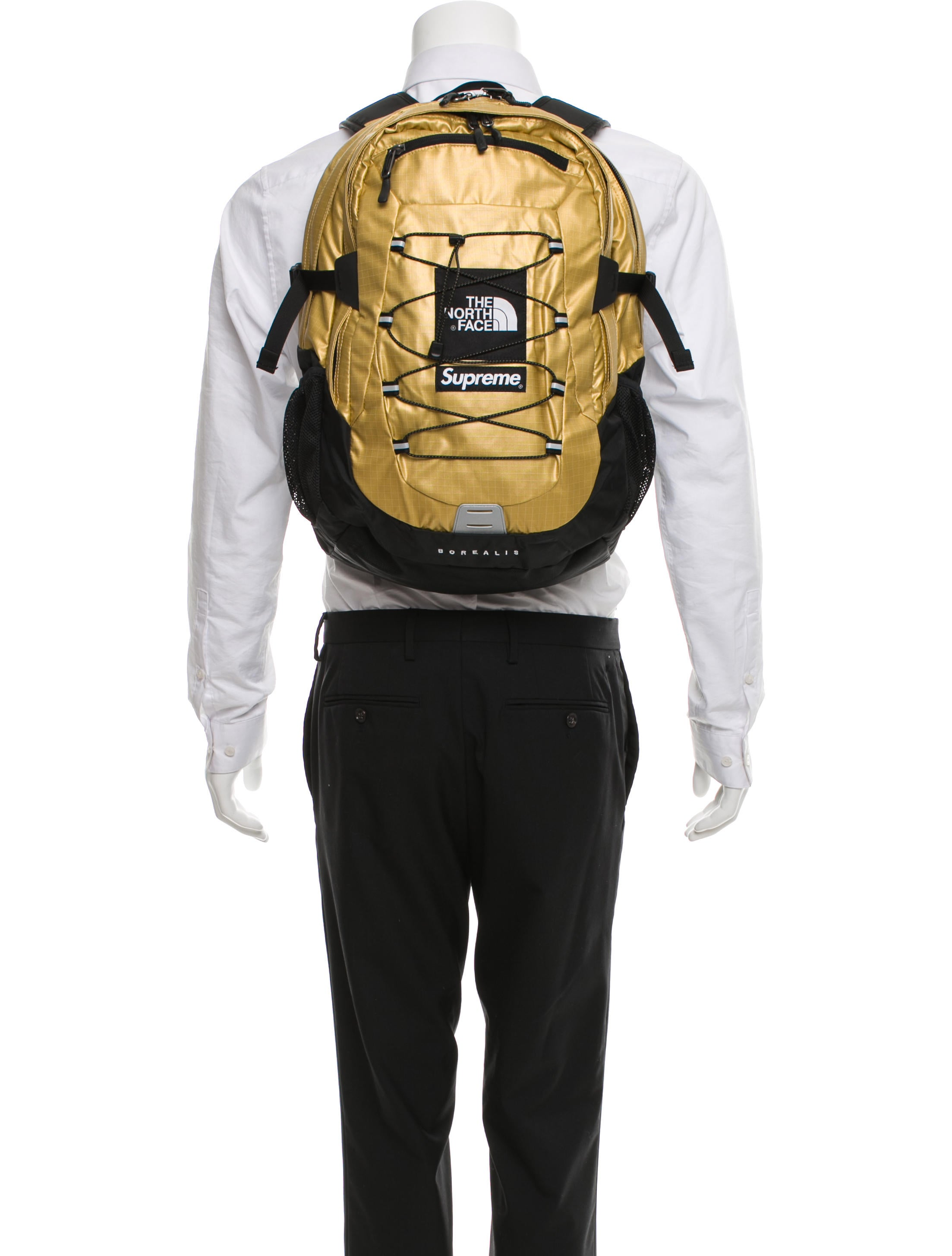 aa9f0a8d Supreme The North Face Metallic Borealis Backpack Rose Gold- Fenix ...
