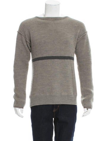 N. Hoolywood Wool Rib Knit Sweater None
