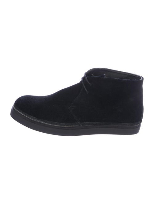 N.Hoolywood Suede Ankle Boots black