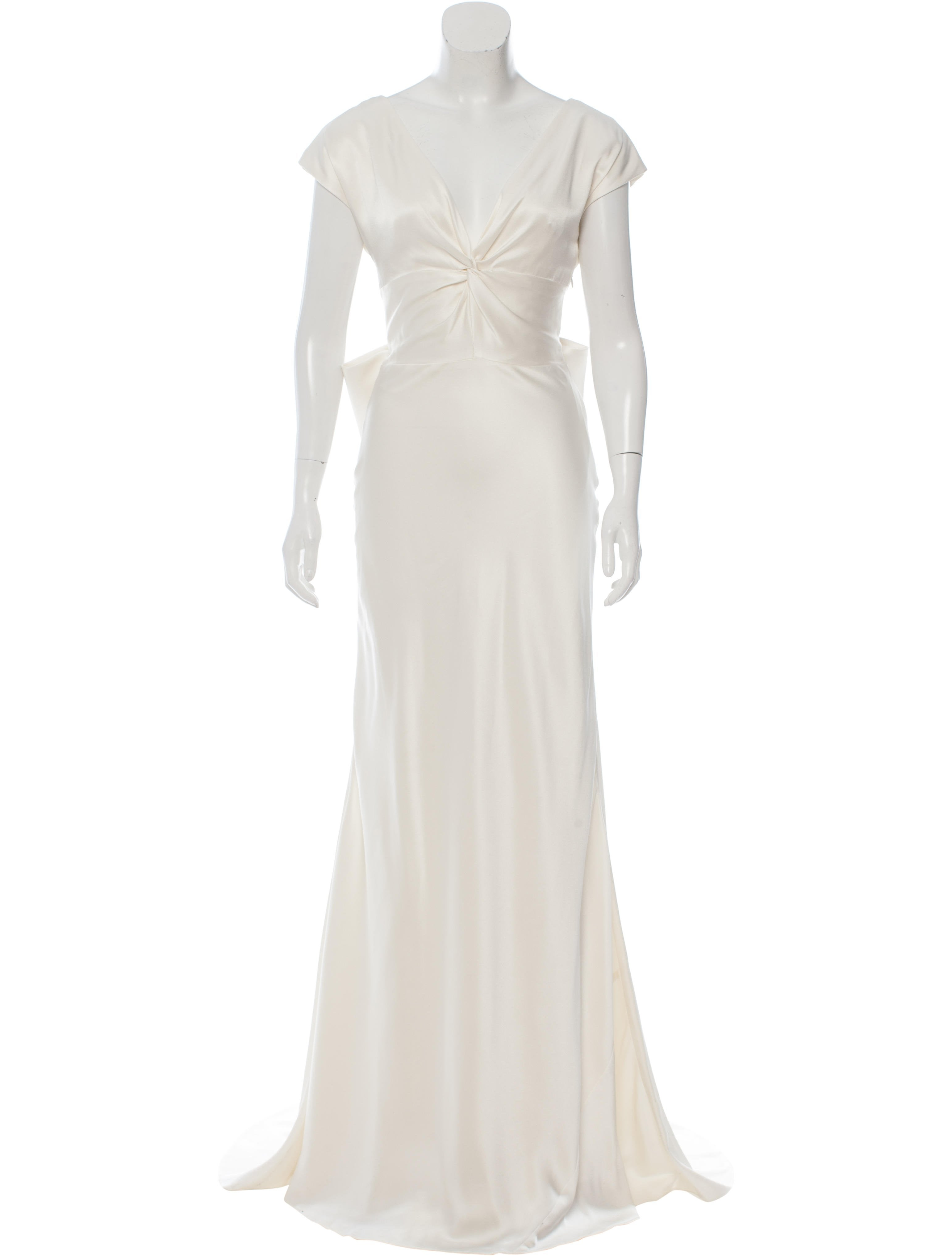 Nicole Miller Cassandra Silk Wedding Gown w/ Tags - Clothing ...