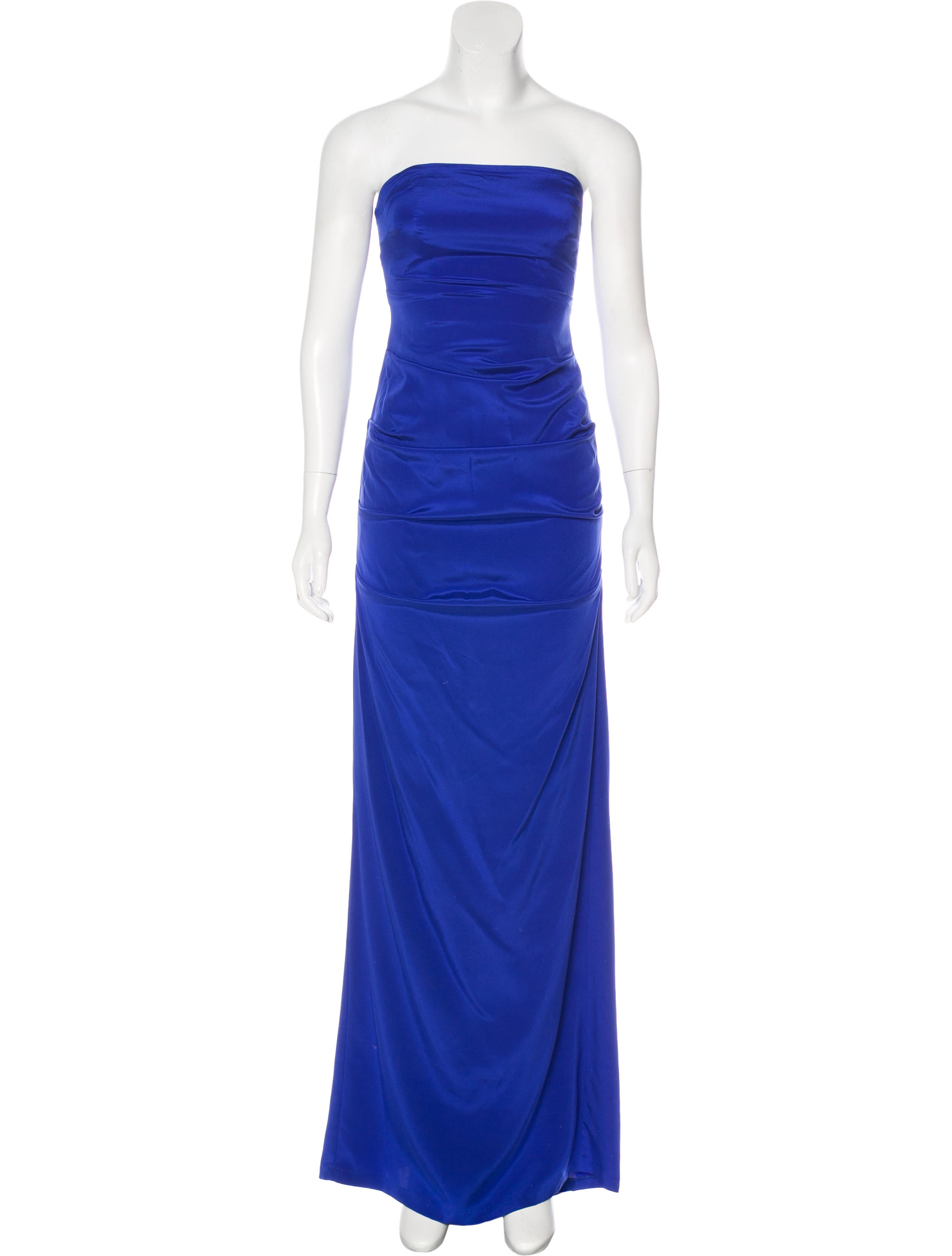 Nicole Miller Strapless Evening Gown - Clothing - WNI20885   The ...