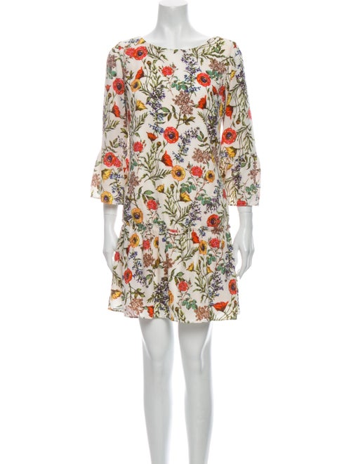 Nicole Miller Floral Print Mini Dress