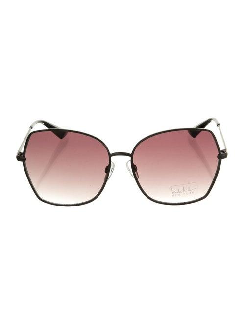 Nicole Miller Pacific Square Sunglasses Black