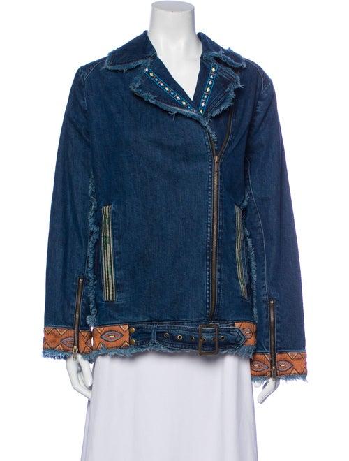 Nicole Miller Denim Jacket w/ Tags Denim - image 1