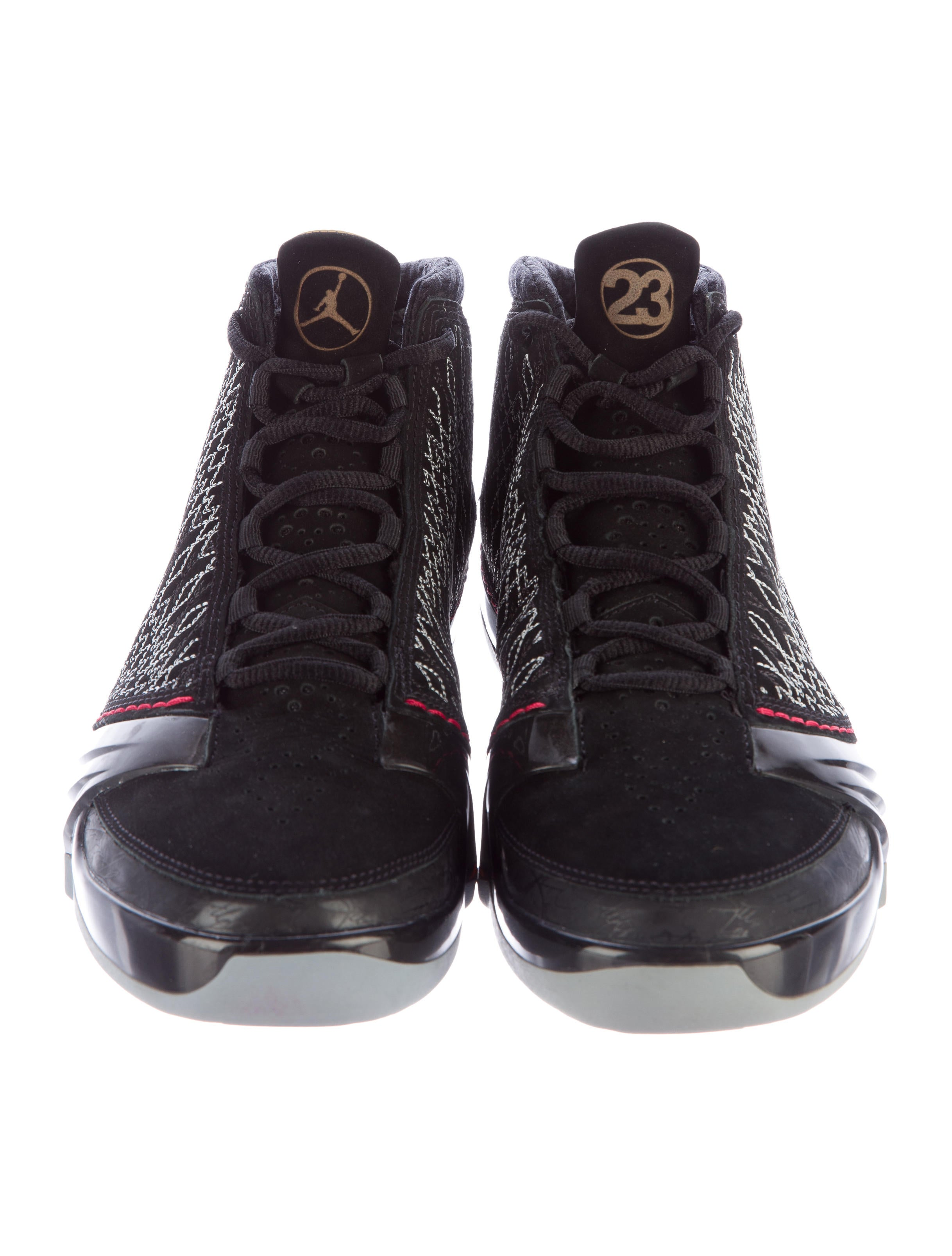 nike air jordan xx3 high top sneakers shoes wniaj20031 the realreal. Black Bedroom Furniture Sets. Home Design Ideas