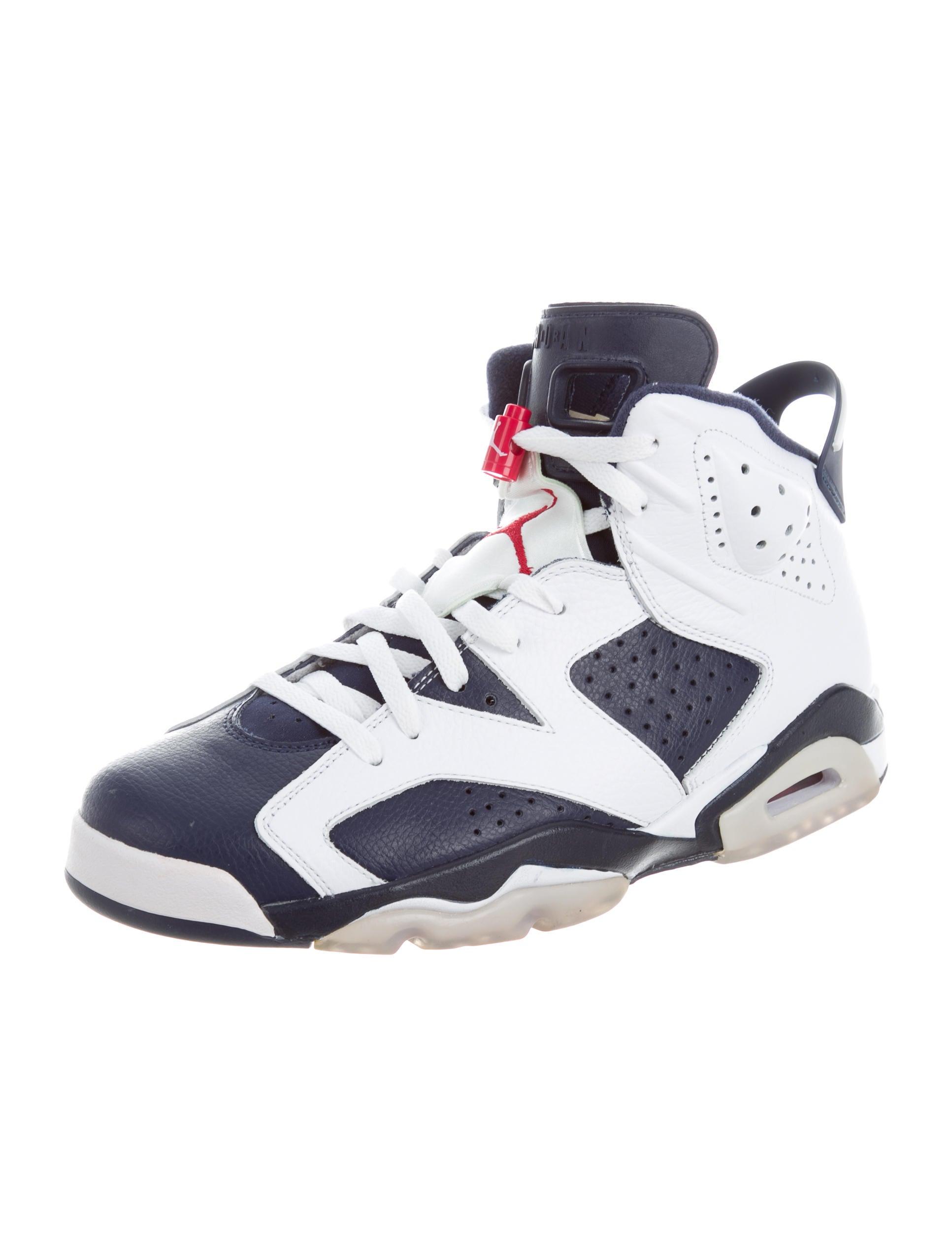 nike air jordan retro 6 olympic london - shoes