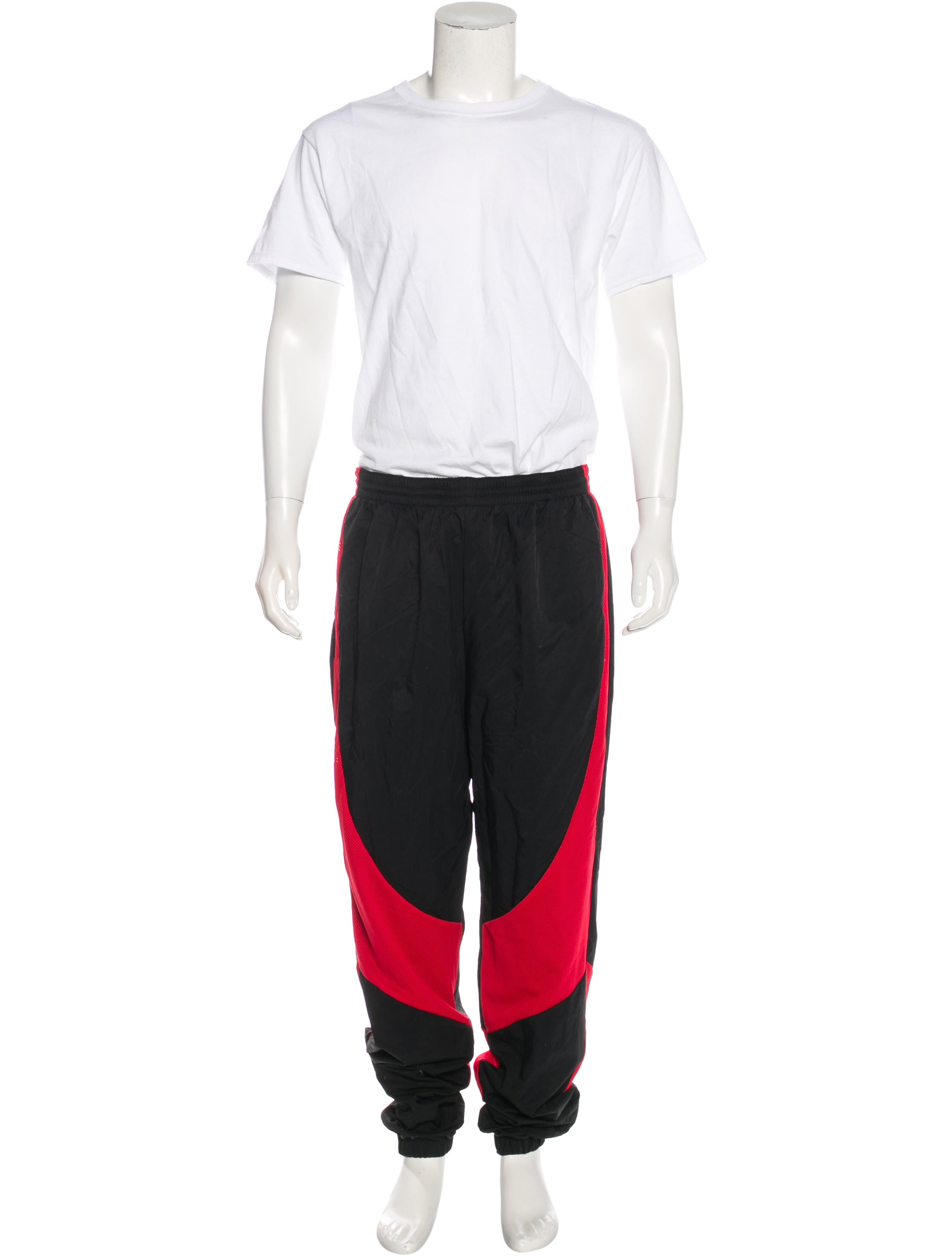 nike air jordan nylon twopiece sweatsuit w tags