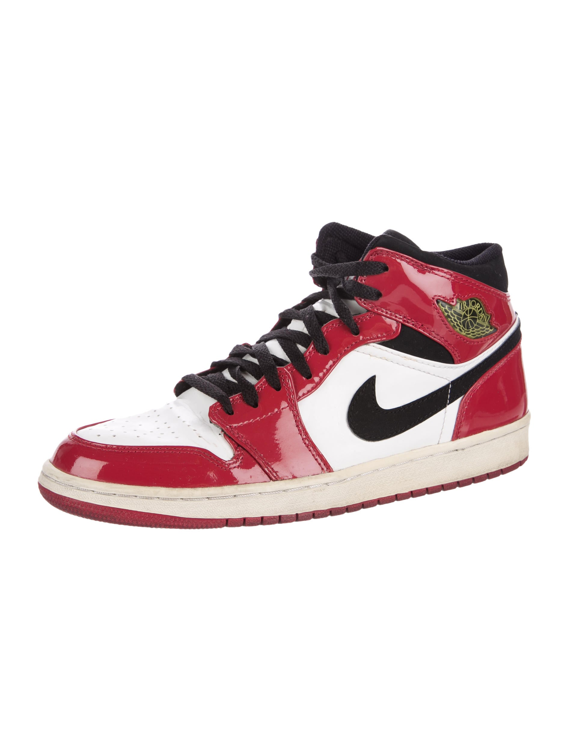 nike air jordan 1 retro mid top sneakers shoes. Black Bedroom Furniture Sets. Home Design Ideas