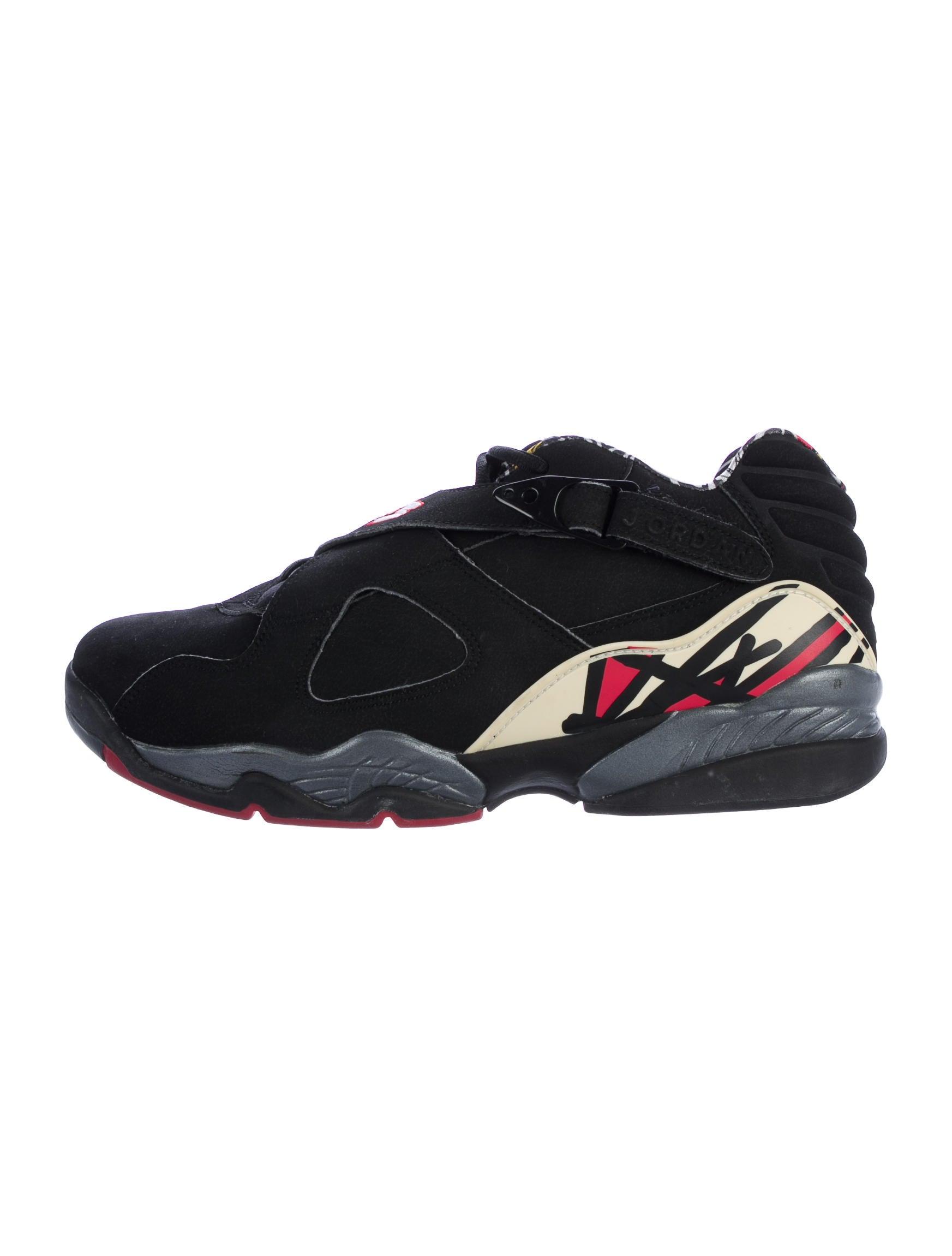 Nike Air Jordan 8 Retro Leather Low Top Sneakers Shoes