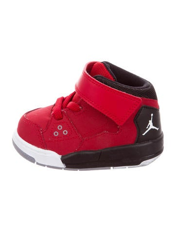Nike Air Jordan Boys' Leather Flight Origin Sneakers None