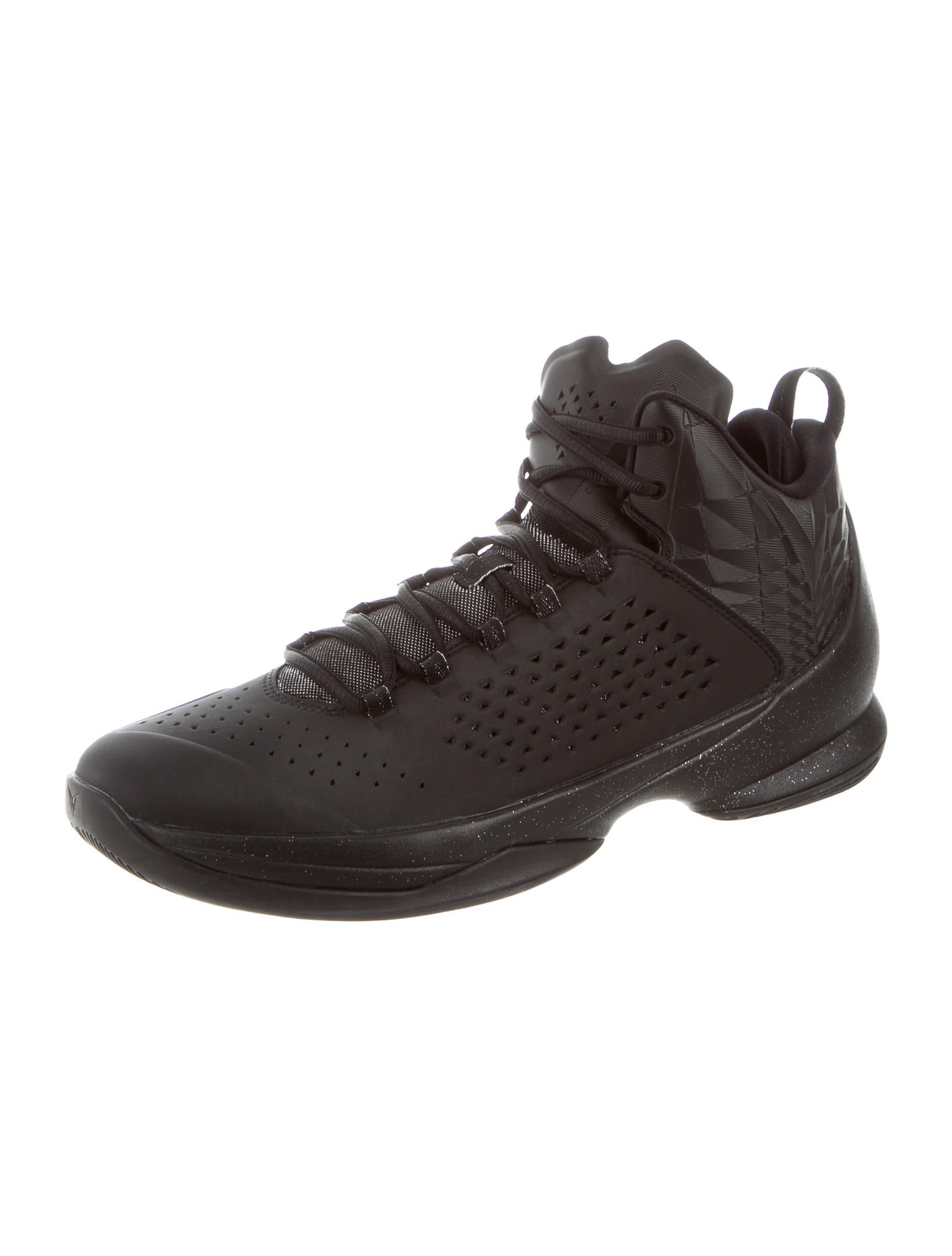 Nike Air Jordan Melo M11 Blackout Sneakers Shoes