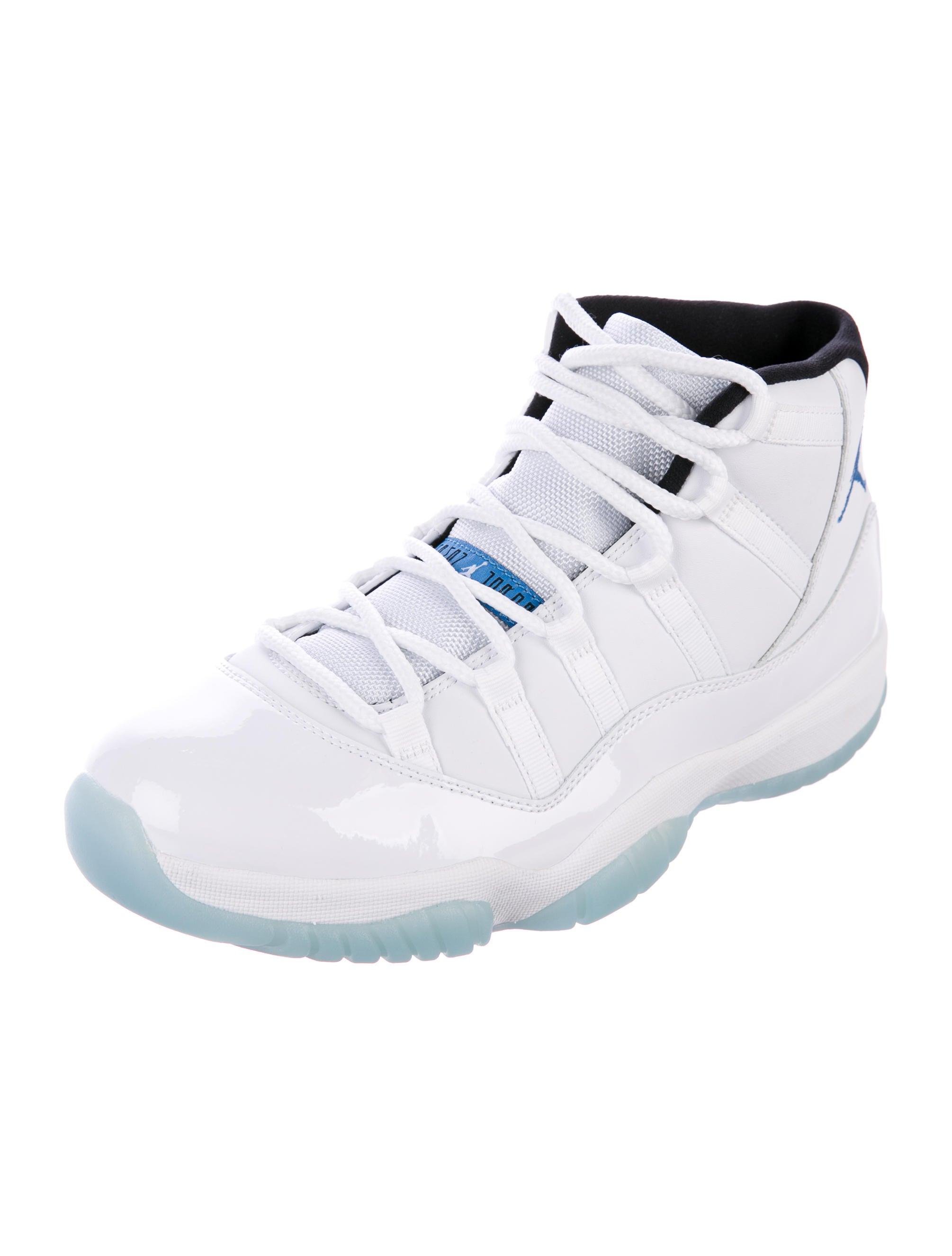 Nike Air Jordan 11 Légende Rétro Bleu Lettres Uk