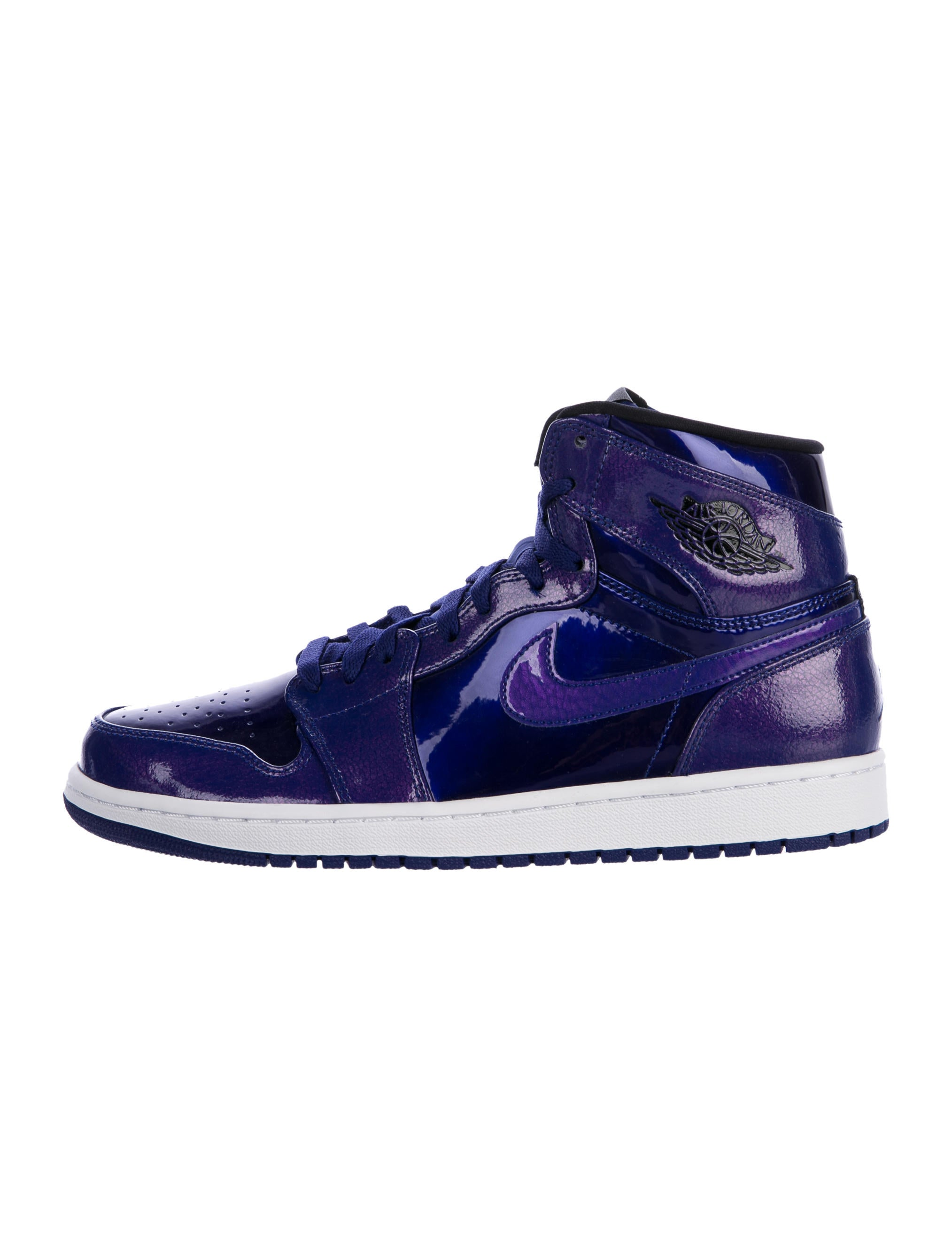 Nike Air Jordan 2016 1 Retro Patent Leather Sneakers W Tags Shoes Wniaj20521 The Realreal