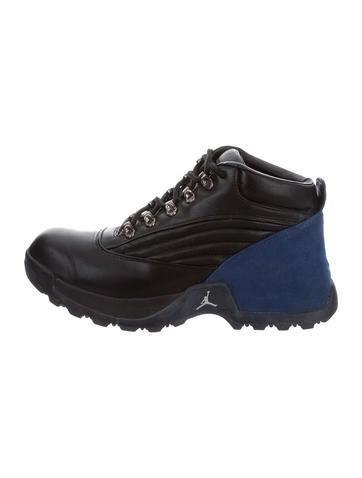 Nike Air Jordan High-Top Sneaker Boots None